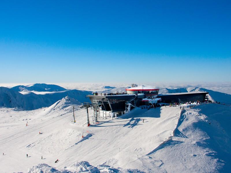 Ski resort Jasná