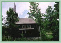 Javorina - Wooden church