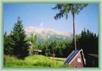 Sight of Slavkovský Peak