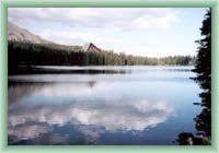 Štrbské Mountain Lake